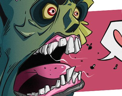 """Check out new work on my @Behance portfolio: """"I Love You to Death"""" http://be.net/gallery/50837061/I-Love-You-to-Death"""