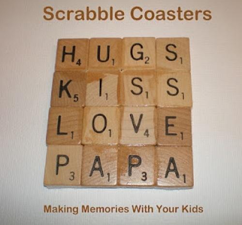 1000 Ideas About Scrabble Coasters On Pinterest