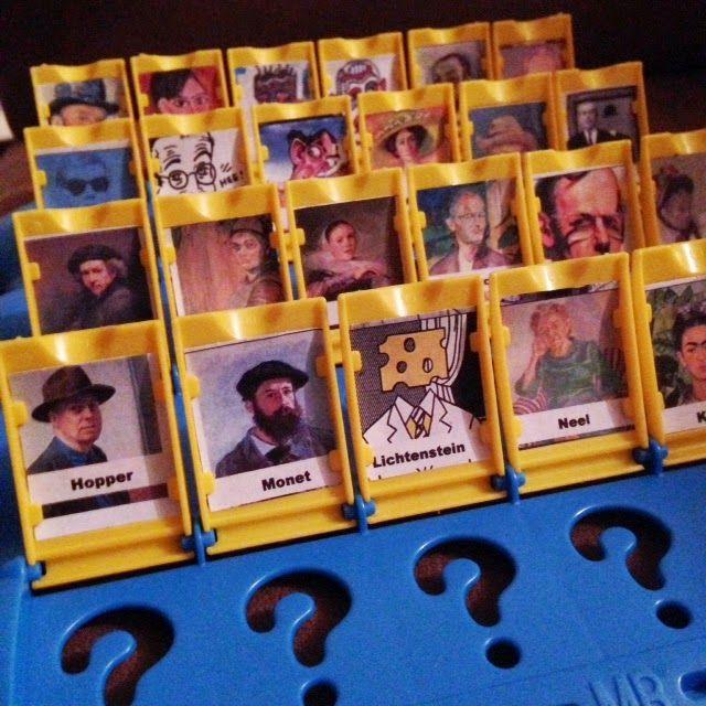Olive ART! Do You???: Artist Who?