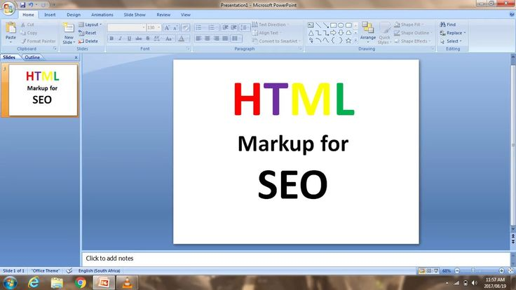 SEO - HTML Markups for Search Engine Optimization
