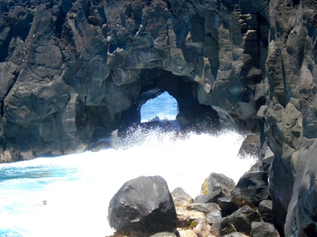Cap Méchant à la Réunion