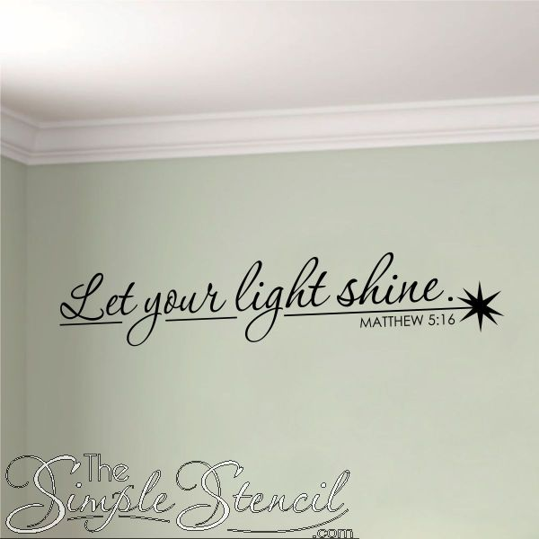 Best Christian Wall Words Images On Pinterest Wall Words - Custom vinyl wall decals sayings for bathroom