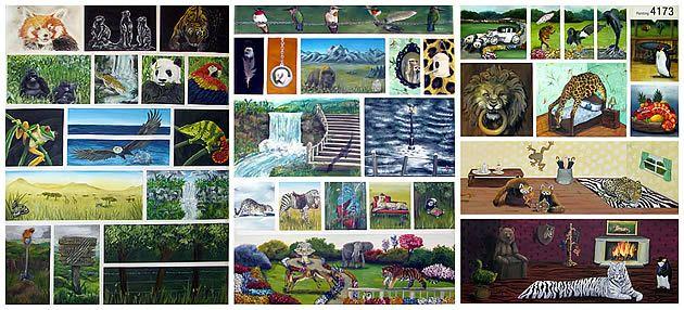 surrealism - NCEA level 3 painting folios