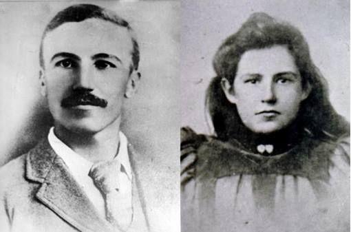 Danie Theron en Hannie Neethlingh