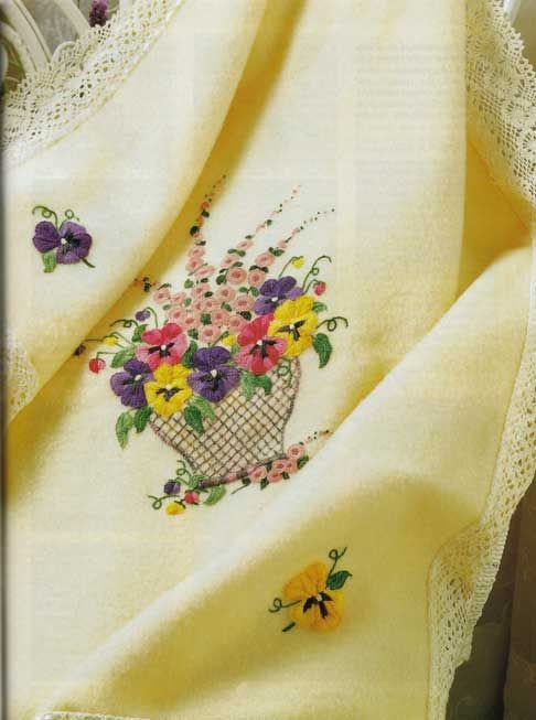 Crewel wool embroidery designs!