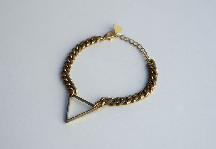 Triangle Brass Geometric Mystical Bracelet https://www.etsy.com/listing/190093318/triangle-brass-geometric-mystical?ref=shop_home_active_9