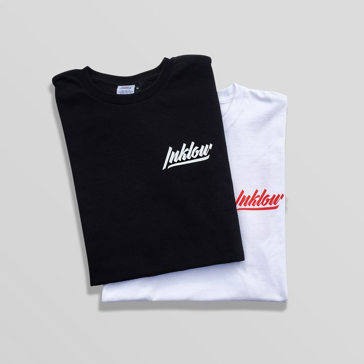 Our premier clothing line includes two tee-shirts. One white, one black, a balance of opposites ⚪️☯️⚫️  . Check out our other merch at www.inklowco.com - we have a run of limited art prints, sticker packs & button packs! . #inklow #artcollective #apparel #fashion #clothing #art #streetwear #design
