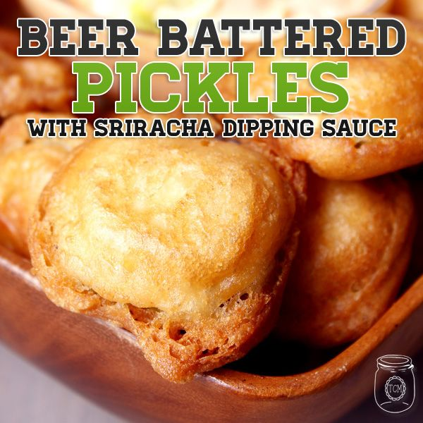 More like this: pickles , fried pickles and beer .