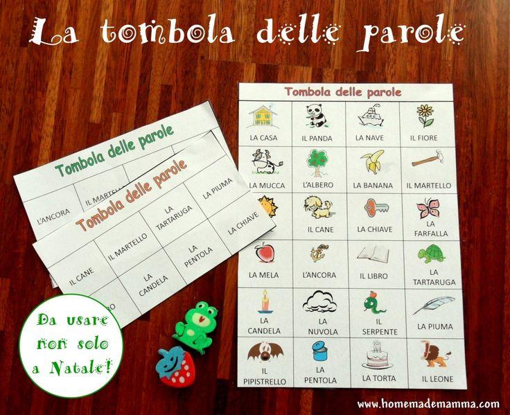 344 best free brooks schede didattiche e siti utili images on pinterest for Tombola di natale da stampare