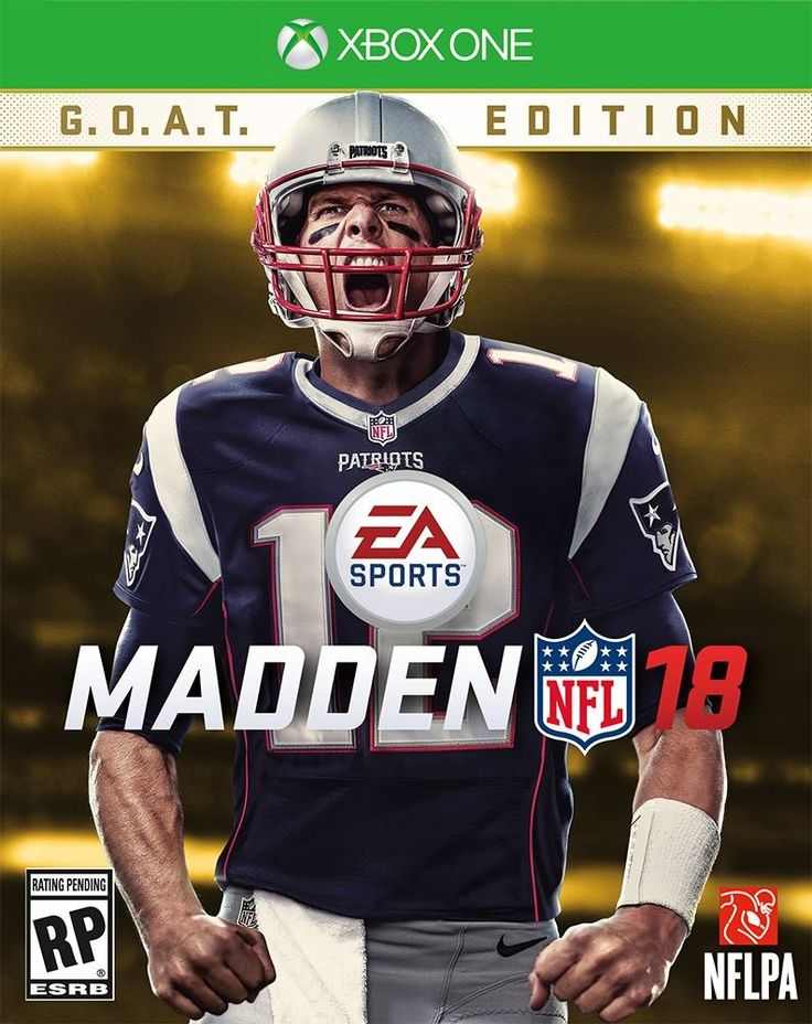 "The Greatest EA SPORTS MADDEN NFL of All Time...Hopefully he doesn't get hit with the ""Madden Curse"""