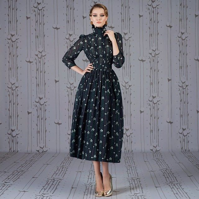 Ulyana Sergeenko dress from Demi Couture collection