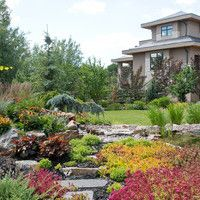 Landscape Design for Ravine Estate Lots - gallery of landscaping design ideas for estate lots, large lots, ravine lots