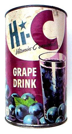 I remember when it came in a can like this - grape was my favorite.