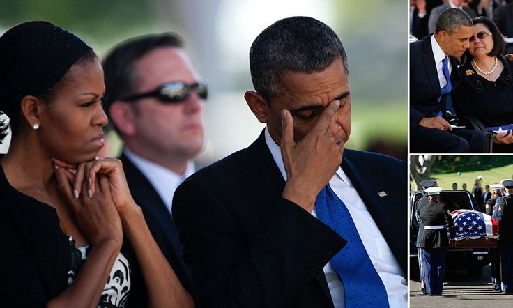 The memorial service at Honolulu's National Memorial Cemetery of the Pacific was attended by more than 1,000 people, including an emotional President Obama, who had called the late Senator Inouye one of his first political inspirations.