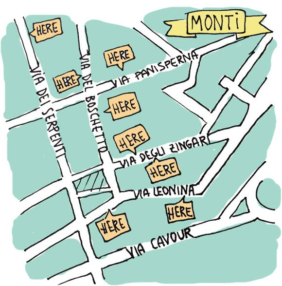 #7 Check out the tiny stores in Monti district — Top 8 things to do in Rome, Oh! My Cake