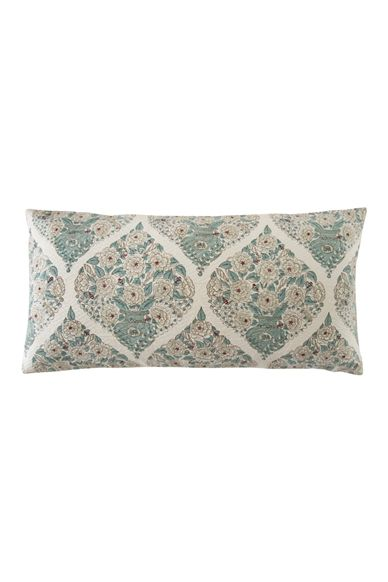 Goodearth - Champaka :Pique Cotton Cushion