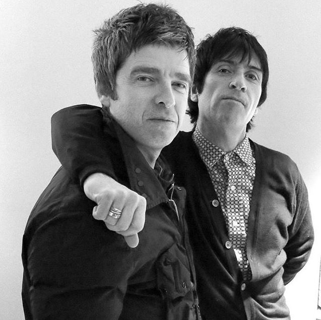 #repost #noelgallagher #johnnymarr