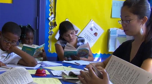 Guided Reading - watch an overview of Jenna's guided reading lesson.