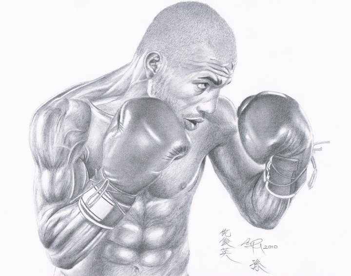 Boxing: Miguel Cotto Drawing