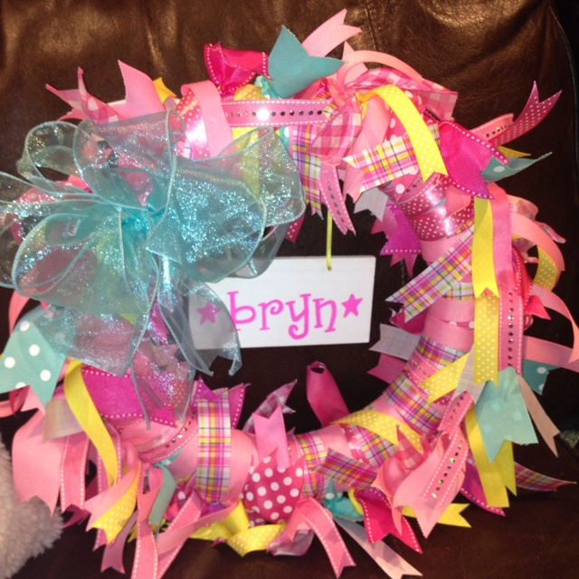 For the hospital door when Baby is born!: Shower Ideas, Born Door, Hospital Door, Baby Brain, Baby Born, Baby Stuff, Hospital Wreaths, Baby Shower