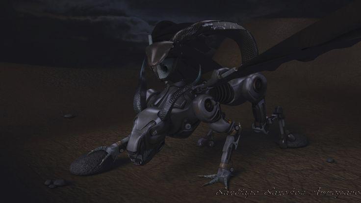 Concept Chimera Robot