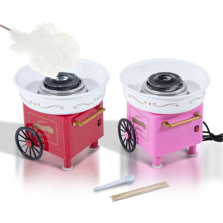 Homcom Zuckerwattemaschine Zuckerwattegerät Zuckerwatte Maschine 450W 2 Farbe in Haushaltsgeräte, Kleingeräte Küche, Zuckerwattemaschinen   eBay!