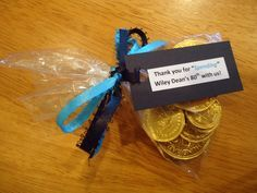 80th birthday party favors. See more favor and party ideas at one-stop-party-ideas.com.