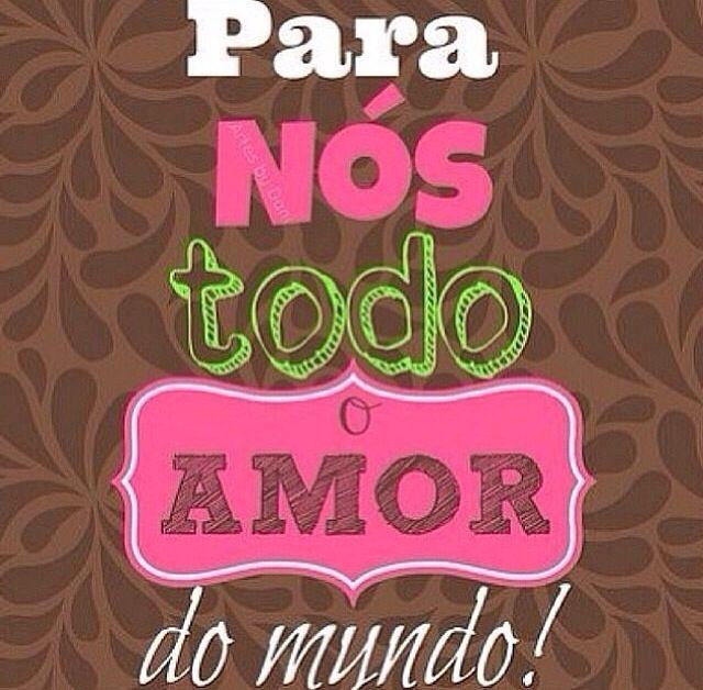 Muito amor ❤️