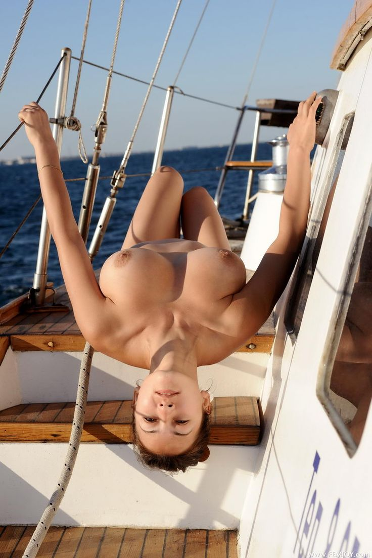 Hanging mature boobs