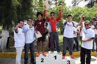 David Saúl González Núñez, ganador de la carrera del ITA ~ Ags Sports