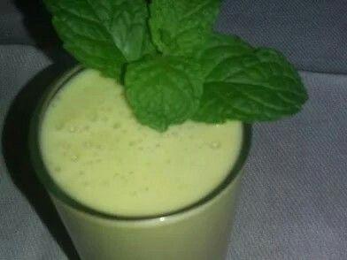 Umbuzada - Brazilian plum water, sugar, and condensed milk
