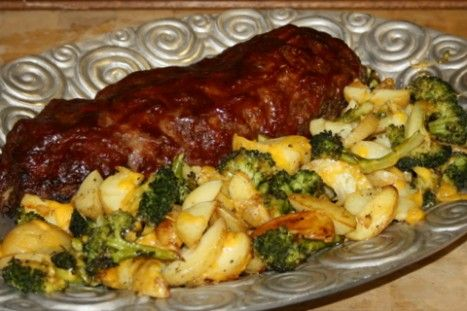 Convection Recipe Of The Week, Meatloaf & Roasted Vegetables : Purcell Murray Blog