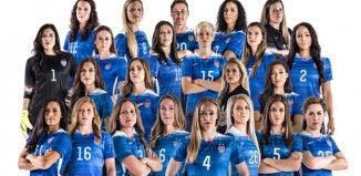 Liste des 23 joueuses sélectionnées aux Etats-Unis pour la Coupe du Monde 2015 http://www.canada2015.fr/la-liste-des-23-americaines-pour-canada-2015/