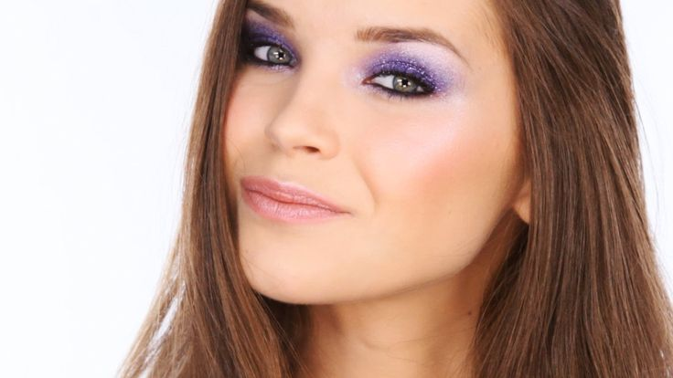 Colourful Glitter Party Eyes Tutorial
