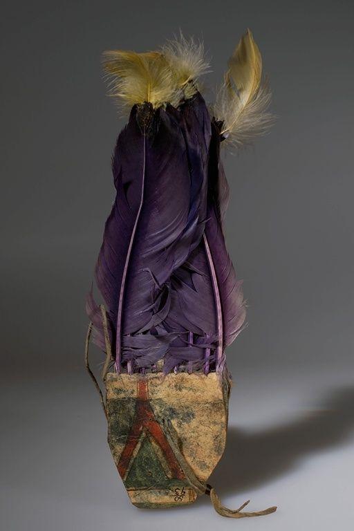 Головной убор Общество Бизона (женское). Арапахо, 1899 год. Оклахома.