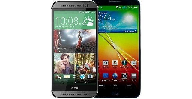 LG G3 vs. HTC One (M8) | WhatMobilePk