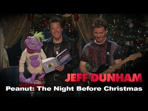"Video Clip of The Day : ""Peanut: The Night Before Christmas"" from Jeff Dunham's Very Special Christmas Special 