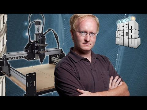 Ben Heck's CNC Router Tutorial - YouTube
