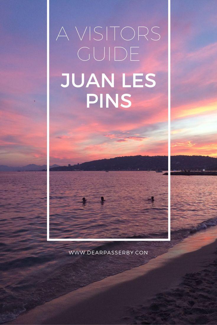 A guide to Juan Les Pins Cote D'Azur France