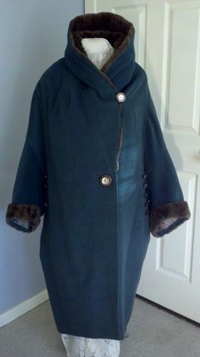 Fabulous Vintage Art Deco Ladies Cocoon Coat 1920's