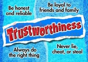 Seven Pillars of Character: trustworthiness, respect, responsibility, fairness, caring, citizenship, and empathy. #sierracanyon