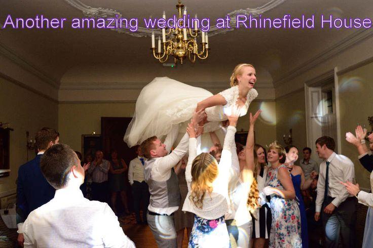 Another amazing wedding at Rhinefield House - DJ Martin Lake
