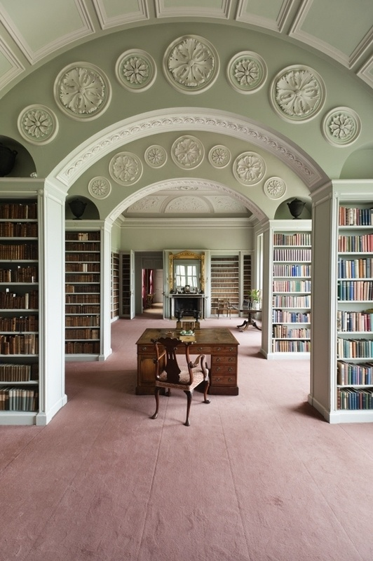 The Book Room at Wimpole Hall.  I SO NEED THIS!