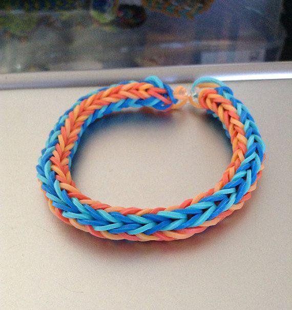 fishtail loom bracelet instructions