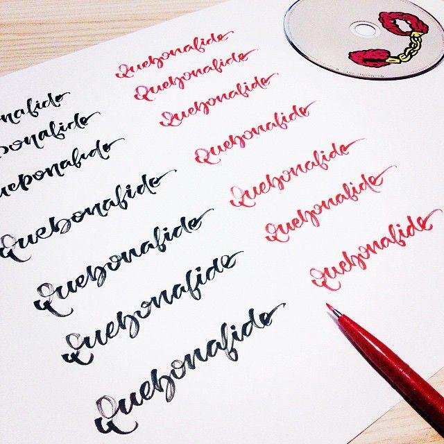 Erotyka  #quebonafide #lettering #thisisarcher