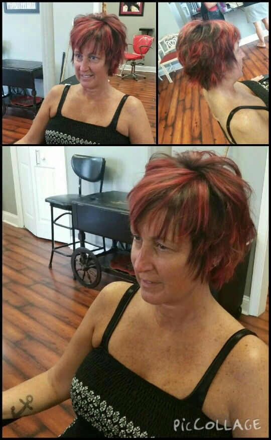 #444ever #creativecolor #studio444 #salon #creative #beauty #beyou #change #funkystyles #redheads