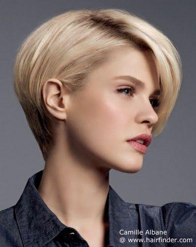 peinados y tendencias de moda cortes de pelo corto para mujeres 2014