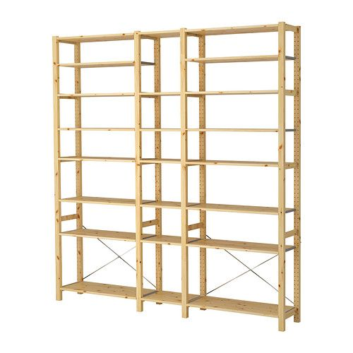 shelves to paint same as wall color or within a neutral- more minimalistic and modern than rustic- can allow for crates and other display pieces to bring a bit of rustic