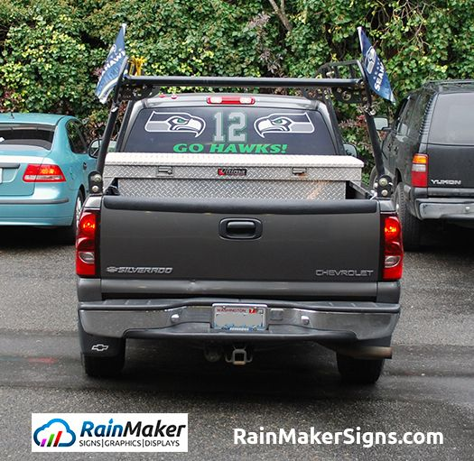 Best Business Rear Window Graphics Images On Pinterest Window - Vehicle decals for business application