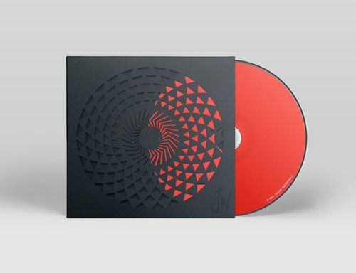 Details we like / packaging / CD cover / Black / Cut outs / Inteaction / at inspiration